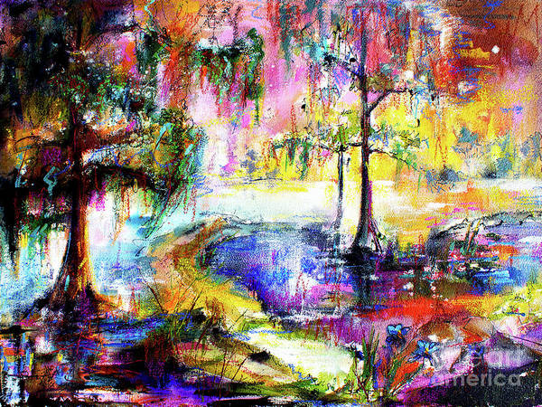 Painting - Magic Of The Wetland Okefenokee Georgia by Ginette Callaway