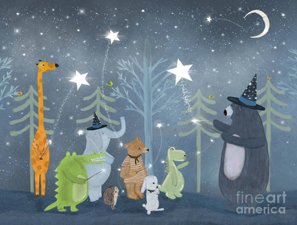 Magic Stars Art Print by Bri Buckley