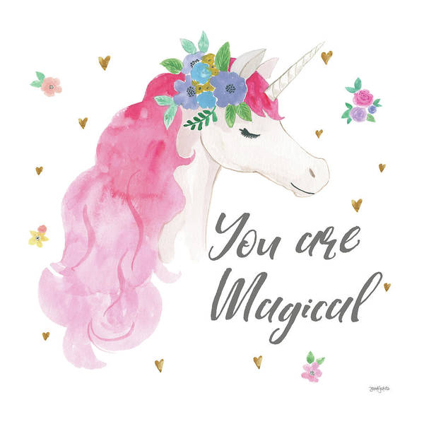 Girly Painting - Magical Friends IIi You Are Magical by Jenaya Jackson