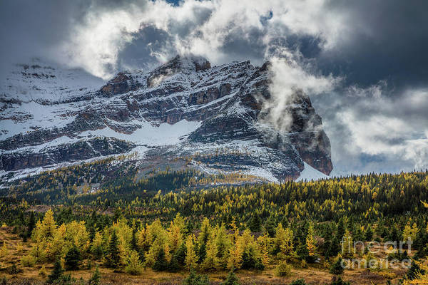 Wall Art - Photograph - Magical Mountain Clouds by Inge Johnsson