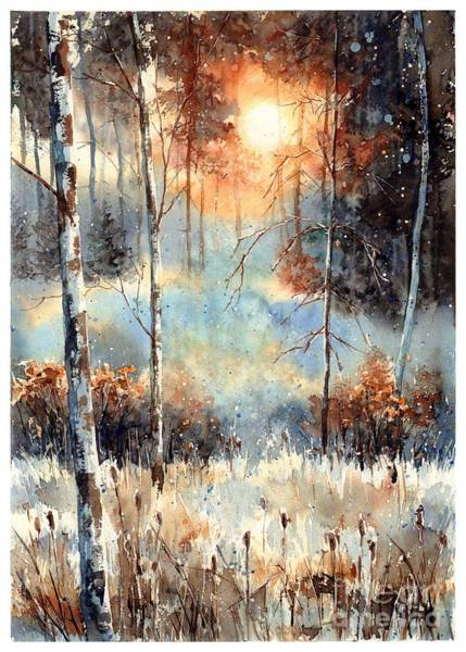Changing Painting - Magical Sun by Suzann Sines