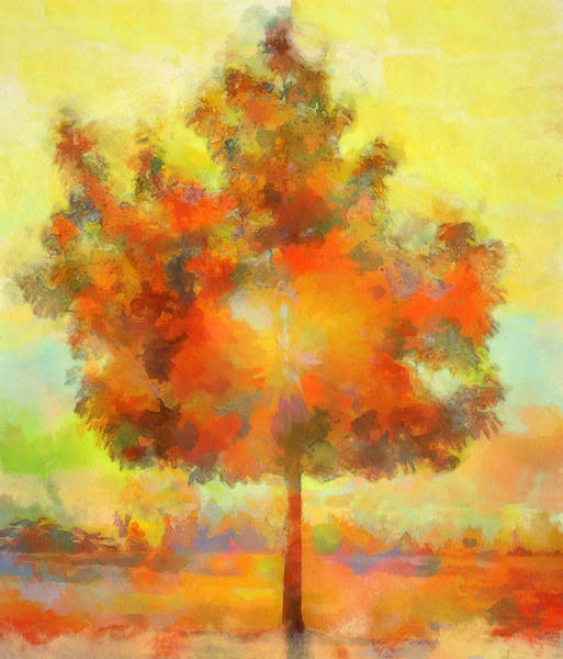 Painting - Magical Tree by Dan Sproul