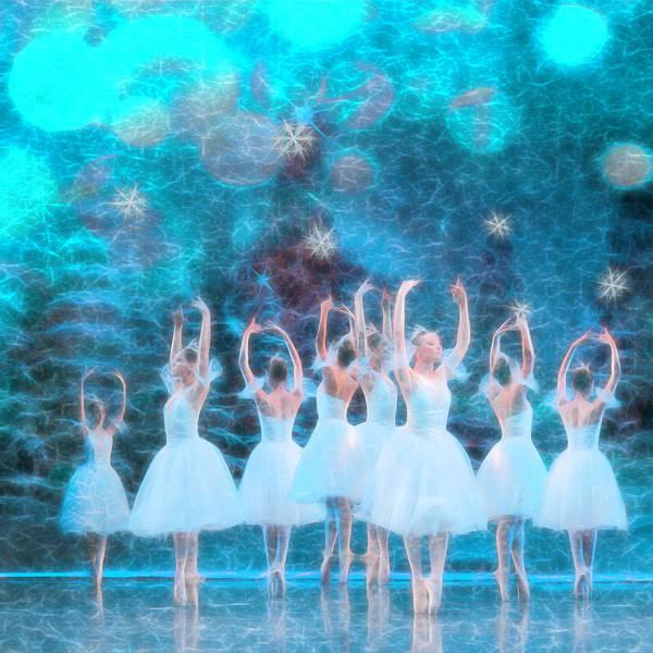 Digital Art - Magical White Night  by Debra and Dave Vanderlaan