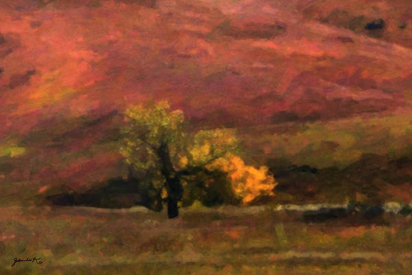 Painting - Magnificent Autumn Colors by Gerlinde Keating - Galleria GK Keating Associates Inc