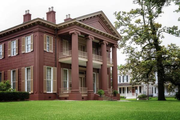 Photograph - Magnolia Hall - Natchez, Mississippi by Susan Rissi Tregoning