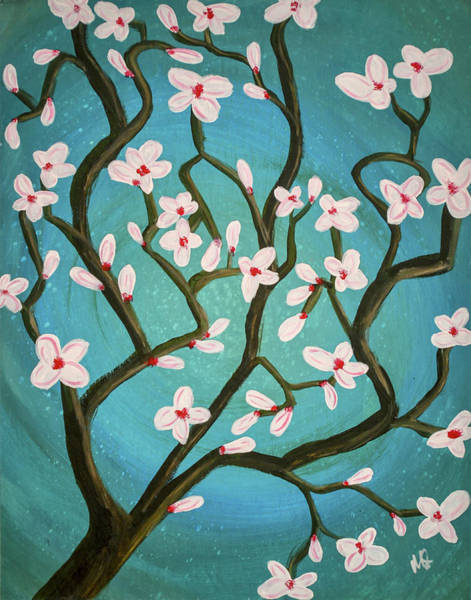 Wall Art - Painting - Magnolia by Melissa Smith