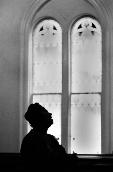 Photograph - Mahalia Jackson Sings At A Church by Michael Ochs Archives