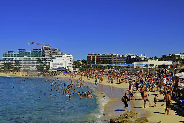 Photograph - Maho Beach by Tony Murtagh