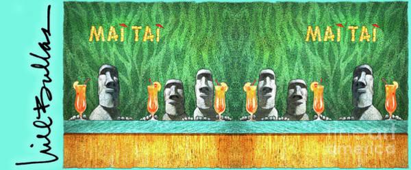 Painting - Mai Tai... by Will Bullas