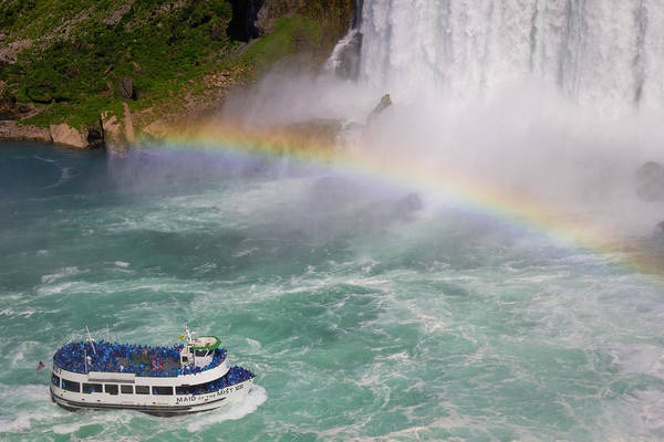 Wall Art - Photograph - Maid Of The Mist 01 by Teresa Mucha
