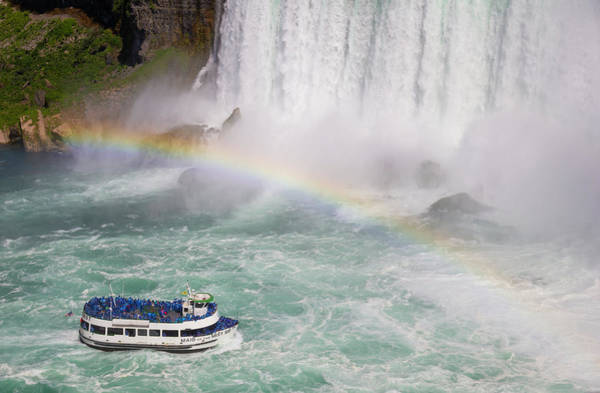 Wall Art - Photograph - Maid Of The Mist 02 by Teresa Mucha