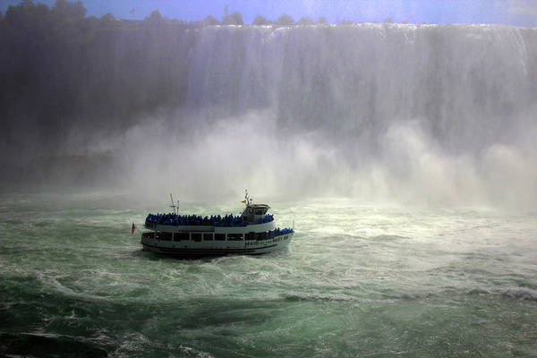 Photograph - Maid Of The Mist - 3 by Doc Braham