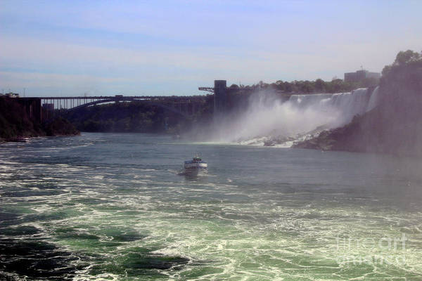 Photograph - Maid Of The Mist Canada by Doc Braham