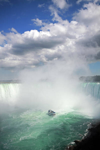 Horseshoe Falls Wall Art - Photograph - Maid Of The Mist by Orchidpoet