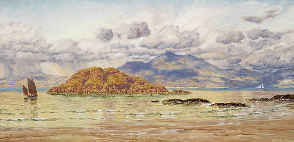 West Bay Painting - Maiden Island by John Brett