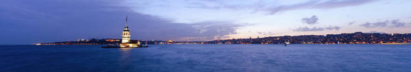 Galata Photograph - Maidens Tower And Istanbul Panorama by Funky-data
