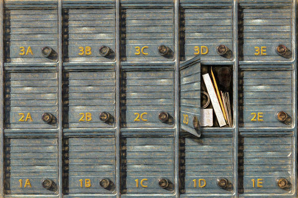 Photograph - Mail For 2d by Paul Wear