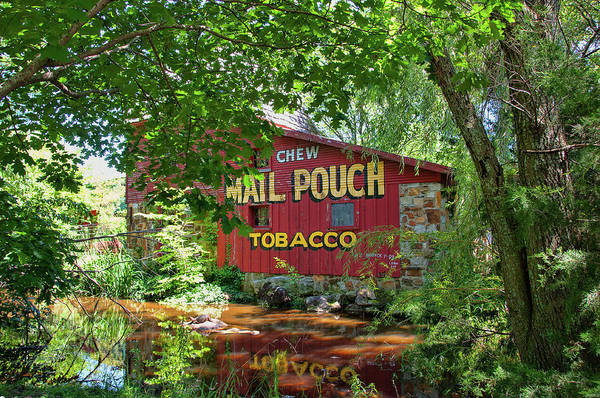Photograph - Mail Pouch Chewing Tobacco by Steve Stuller