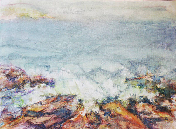 Wall Art - Painting - Main Coast by Lee Baker DeVore