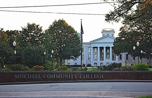 Photograph - Main College Building by Cynthia Guinn
