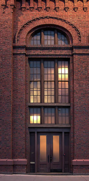 Wall Art - Photograph - Main Entrance Post Street Electric Substation - Spokane by Daniel Hagerman