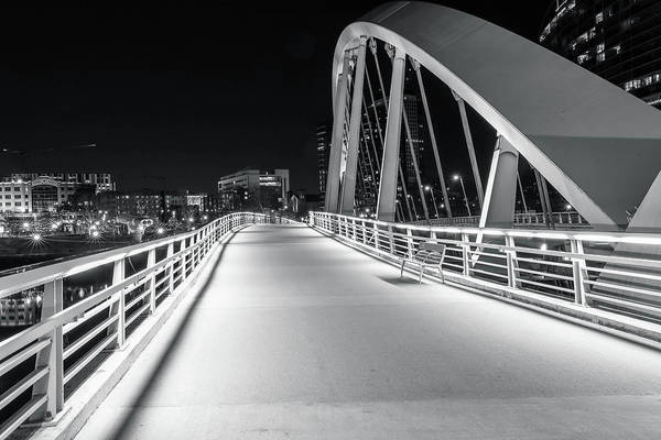 Photograph - Main Street Bridge Columbus Ohio by Dan Sproul