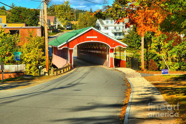 Photograph - Main Street Swanzey New Hampshire by Adam Jewell