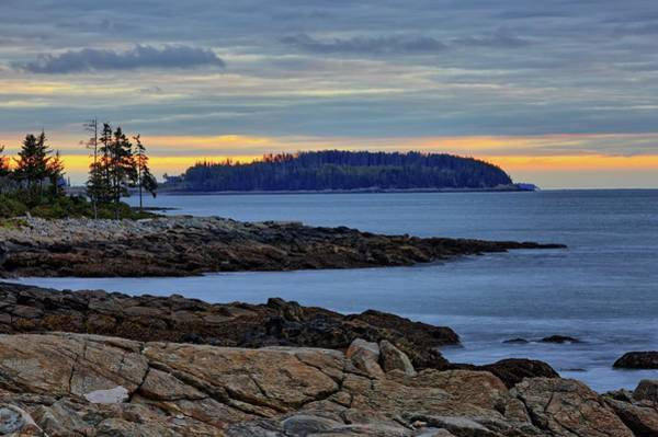 Photograph - Maine Seascape At Sunrise by Kyle Lee