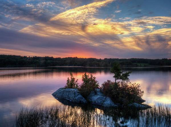Photograph - Maine Sunset by Walt Sterneman