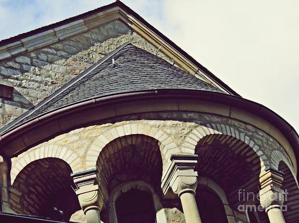 Wall Art - Photograph - Mainz Cathedral Arches  by Sarah Loft