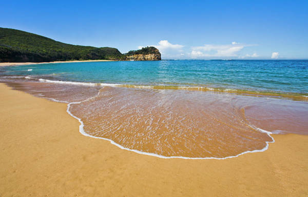 New South Wales Photograph - Maitland Bay With View Of Bouddi Head by Manfred Gottschalk