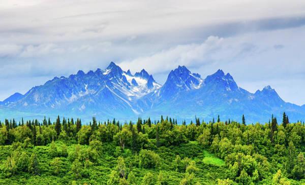 Alaska Photograph - Majestic Alaska Mountains by Feng Wei Photography