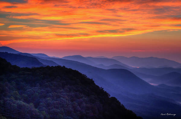 Wall Art - Photograph - Majestic Blue Ridges 2 Pretty A Place Chapel Sunrise Great Smoky Mountains Art by Reid Callaway