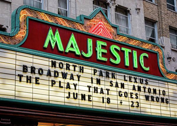 Wall Art - Photograph - Majestic Theatre San Antonio by Stephen Stookey