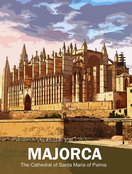 Wall Art - Digital Art - Majorca by Long Shot