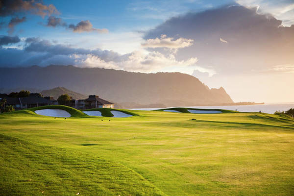 Photograph - Makai Golf Course by Matthew Micah Wright