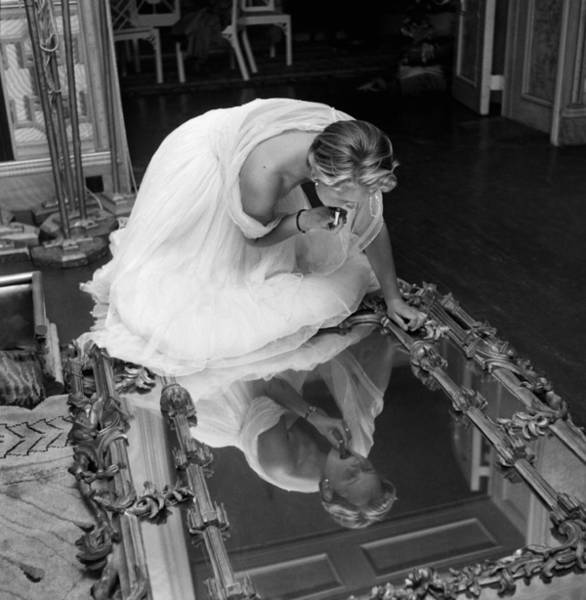 Pavilion Photograph - Make Up Mirror by Thurston Hopkins