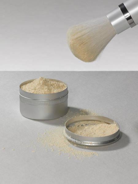 Make Up Photograph - Make Up Powder by Adrian Burke