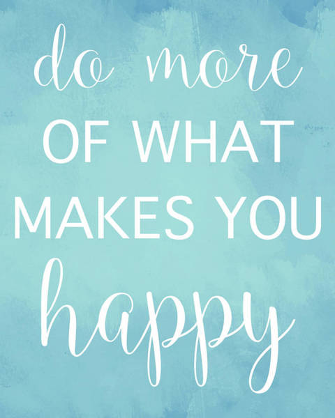 Wall Art - Painting - Makes You Happy by Susan Bryant