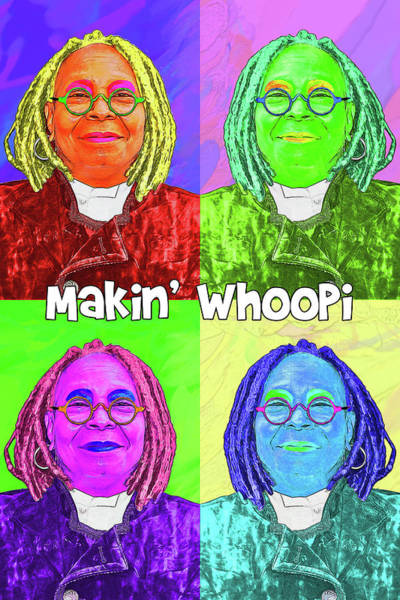 Wall Art - Digital Art - Makin Whoopi by John Haldane