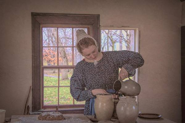 Photograph - Making Gingerbread by Jack Wilson