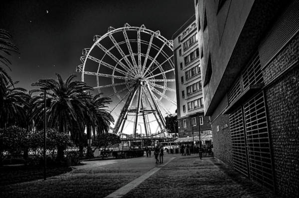 Photograph - Malaga Ferris Wheel by Borja Robles