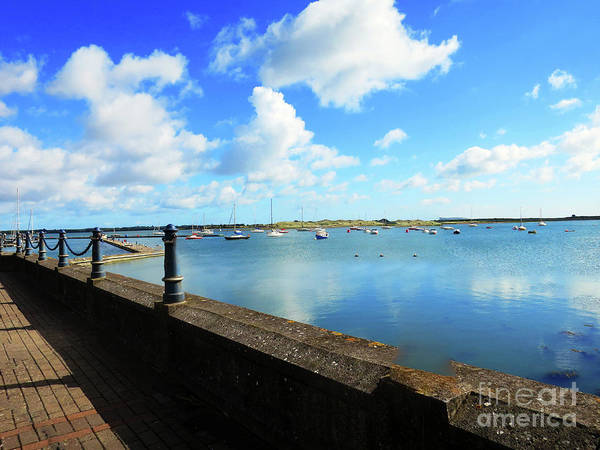 Photograph - Malahide Marina Reflections by Rick Locke