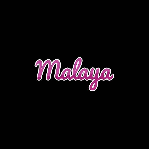 Wall Art - Digital Art - Malaya #malaya by TintoDesigns