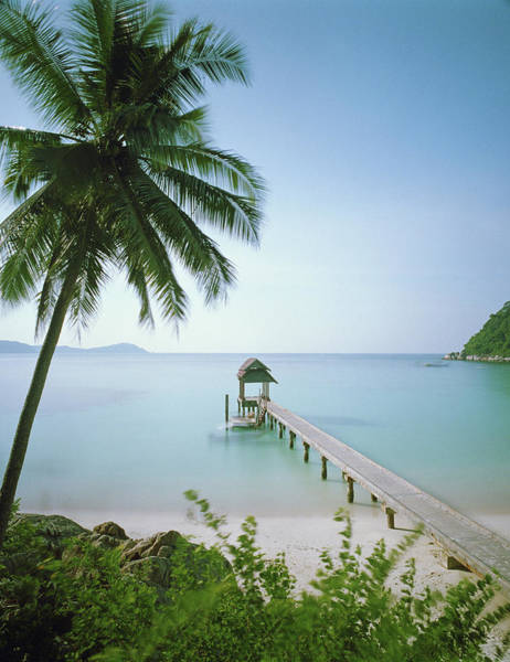 Photograph - Malaysia, Terengganu State, Pulau by Martin Puddy