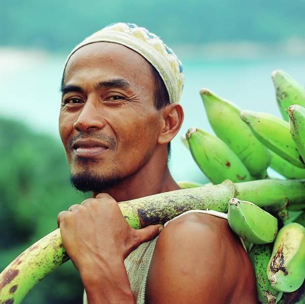 Goatee Photograph - Malaysia, Terennganu State, Pulua by Martin Puddy