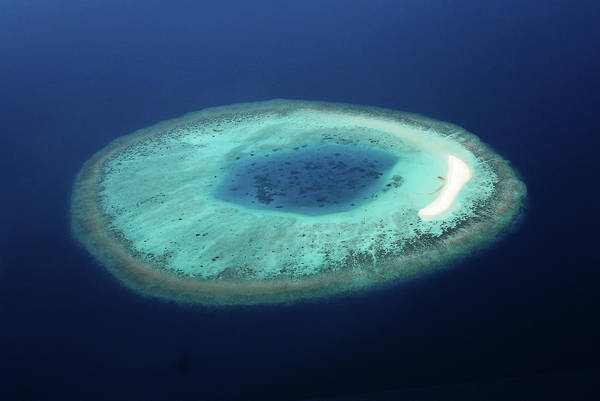 Atoll Photograph - Maldives Coral Islands by Mohamed Abdulla Shafeeg