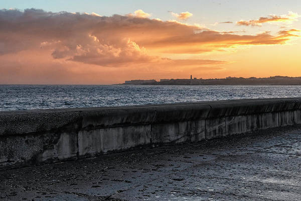 Photograph - Malecon Sunrise by Tom Singleton