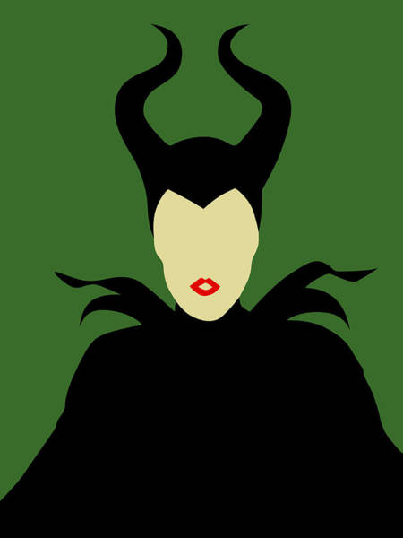 Wall Art - Digital Art - Maleficent by Naxart Studio