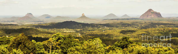 Wall Art - Photograph - Maleny To The Glass House Mountains by Jorgo Photography - Wall Art Gallery